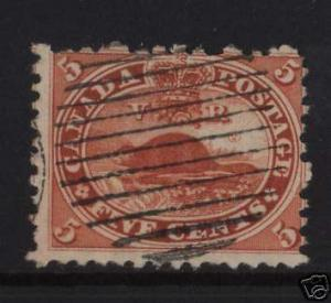 Canada #15 Used With Re-Entries Variety
