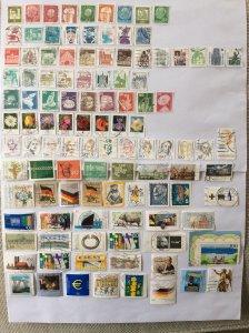 German 100+ stamps - Lot 4