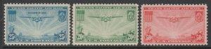U.S. Scott #C20-C21-C22 Airmail Stamp - Mint Set