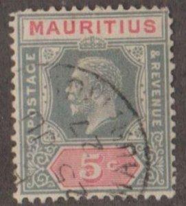 Mauritius Scott #141 Stamp - Used Single