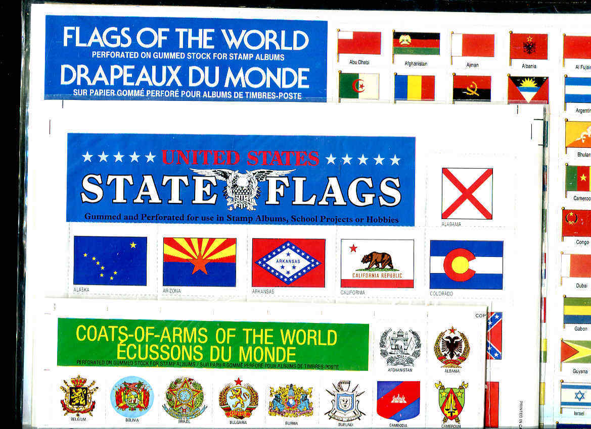Country Flags - State Flags - Coat-of-Arms Of The World