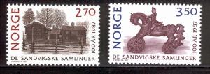 NORWAY 911-912 MNH SANDVIG COLLECTION 1987