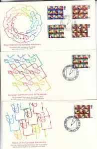 1979, Great Britain: Direct Elections to Europe's Parliament, FDC (S18798)