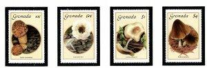 Grenada 1394-97 MNH 1986 Mushrooms            (KA)