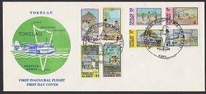 TOKELAU IS 1981 First flight cover ATAFU to Apia, Samoa.....................K280