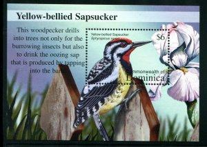 Dominica Sc 2382 Birds Yellow-bellied Sapsucker CV $5.50