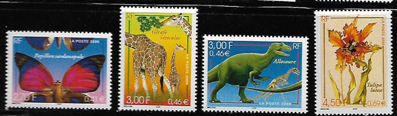 FRANCE 2776-2779 C/SET MNH NATURE