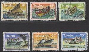 TOKELAU ISLANDS SG91/6 1983 TRANSPORT FINE USED