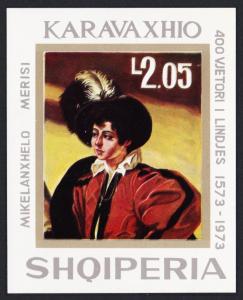 Albania Caravaggio 400th Birth Anniversary MS SG#MS1616 SC#1526