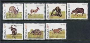 Angola 689-695, MNH, Wild Animals Fauna Monkey 1984. x29178