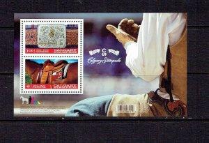 CANADA - 2012 CALGARY STAMPEDE SOUVENIR SHEET - SCOTT 2546 - MNH