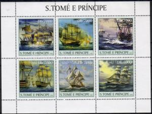 Sao Tomé e Príncipe stamp 2003 Ships WS26480
