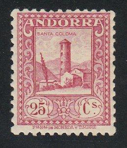 Andorra-Spanish - 1937 - SC 30 - LH