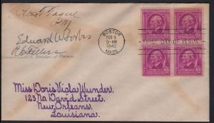 1940 Emerson Sc 861 signed Edward Waldo Forbes, to Wunder