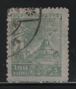THAILAND, 256, USED, 1943, INDO-CHINA WAR MONUMENT