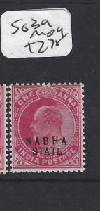 INDIA  NABHA   (P2508B)   KE   SG  39  1 A  MOG