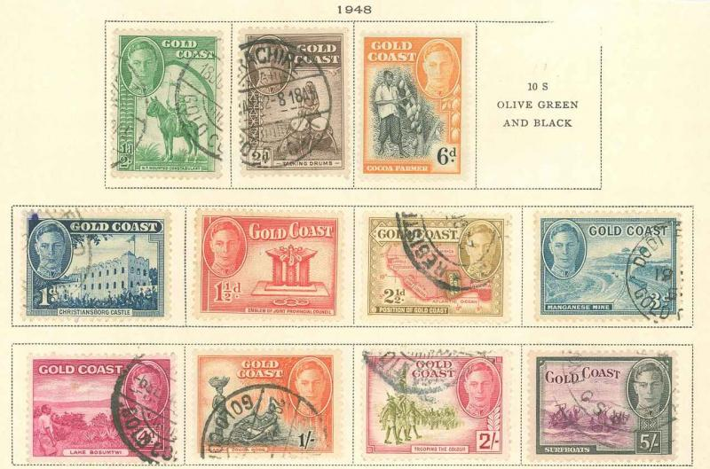 Gold Coast 130-141 Used VF