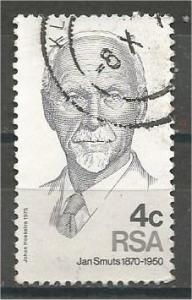 SOUTH AFRICA, 1975, used 4c, Jan C. Smuts. Scott 442