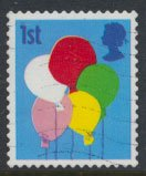 Great Britain SG 2675  SC# 2408  Used Smilers Booklet Balloons