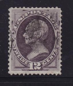 151 VF used neat cancel with nice color cv $ 180 ! see pic !