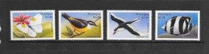 BIRDS - NICARAGUA #2263-6  MNH