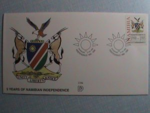 NAMIBIA-FDC 1995 SC# 778  5TH ANNIVERSARY OF INDEPENDENCE  :MNH-VERY FINE