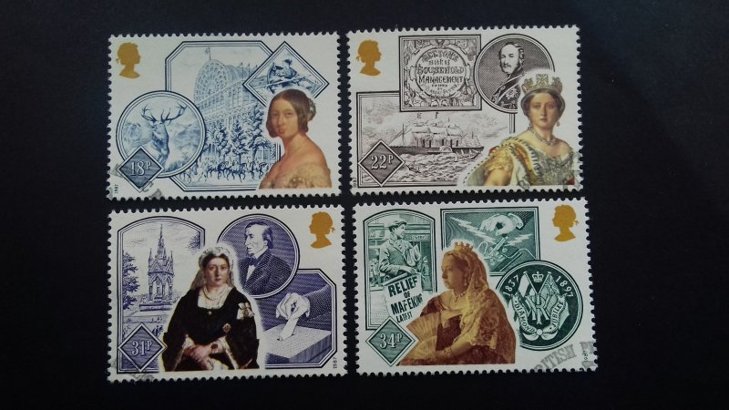 Great Britain 1987 The 150th Anniversary of the Accession of Queen Victoria Used