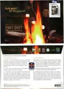 Canada - 100 Years of scouting commemorative cover