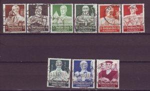 J25166 JLstamps 1934 nazi germany set used #b59-67 people see details $123.10 v