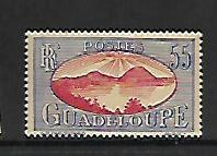 GUADELOUPE, 111, MINT HINGED, SAINTS ROADSTEAD