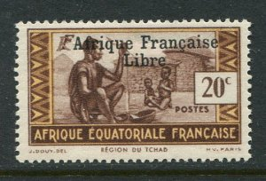 French Equatorial Africa #87 Mint