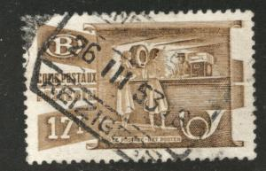 Belgium Parcel Post Scott Q333 Used 1952