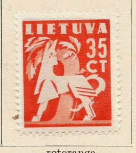 Lithuania 1940 Early Issue Fine Mint Hinged 35c. NW-06570