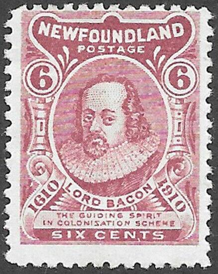 Newfoundland Scott Number 92 VG-F H