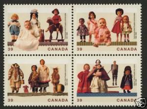 Canada 1277a MNH Dolls