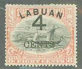 Labuan 89a  Mint F-VF HR