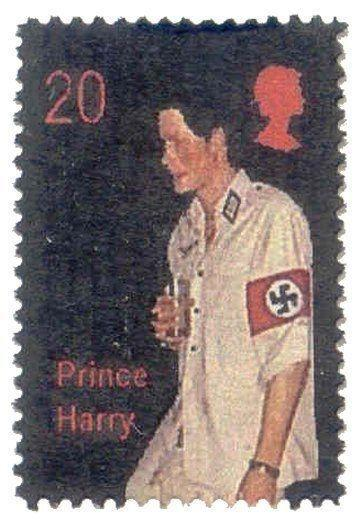 Great Britain 2005 Prince Harry Faux Stamp
