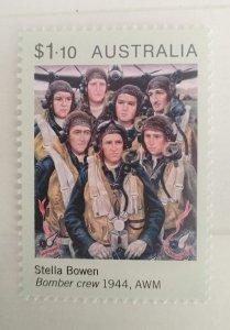 Australia 2020 Bomber Crew by Stella Bowen MNH**