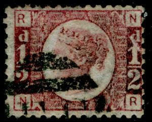 SG48, ½d rose-red PLATE 6, FINE USED. Cat £25. NR