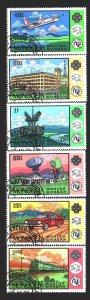 Mongolia. 1983. 1608-13. Communication, transport. USED.