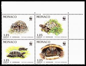 Monaco Scott 1781a (1991) Mint NH VF