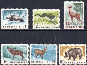 BULGARIA 1004-9 MNH SCV $6.45 BIN $3.00 ANIMALS