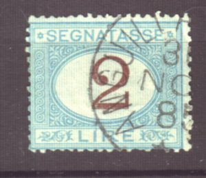 J22615 Jlstamps 1870-25 italy used #j15 postage due