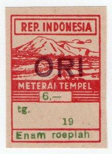 (I.B) Indonesia Revenue : General Duty 6R ORI (Meterai Tempel)