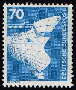 Germany #1177 Shipbuilding; Unused (2Stars)