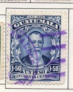 Guatemala 1927 Early Issue Fine Used 1.50P. 139625