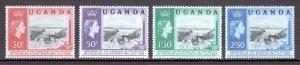 Uganda - Scott #79-82 - MNH - SCV $3.15