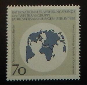 Germany 9N572. 1988 Monetary Fund, World Bank Congress, NH