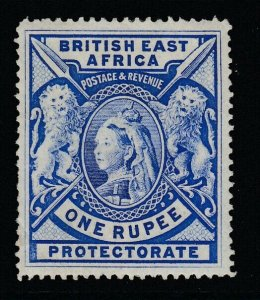 British East Africa, Sc 102b (SG 92b), MHR, minute sealed tear