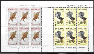New Zealand B69 - 70 mnh 2013 SCV $25.00  -  4236